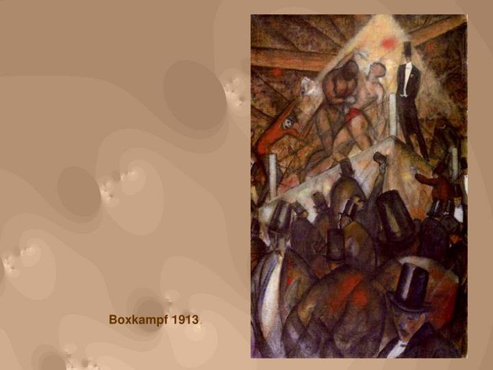Boxkampf 1913