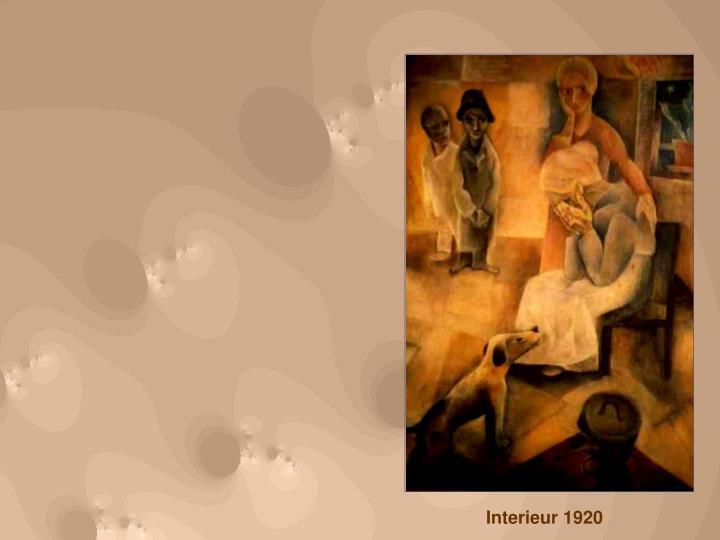 Interieur 1920