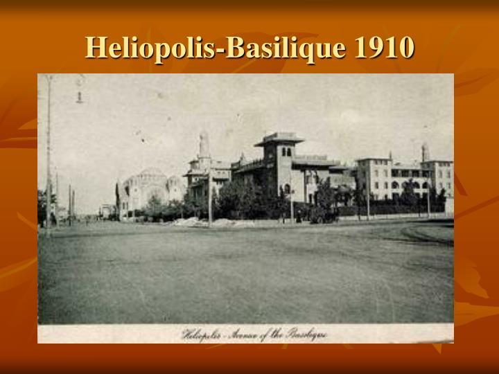 Heliopolis-Basilique 1910