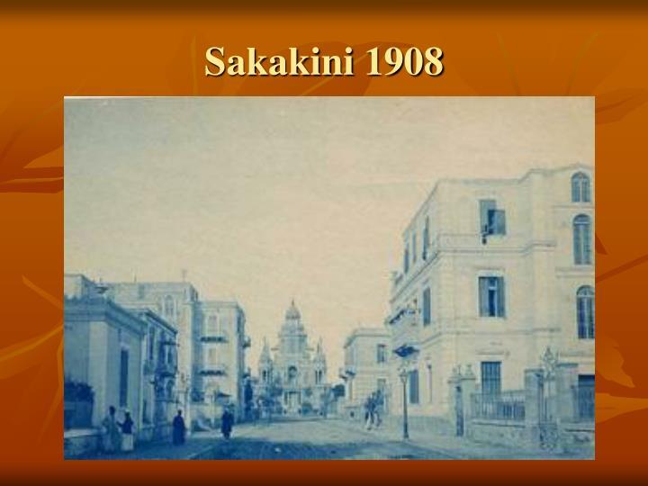 Sakakini 1908