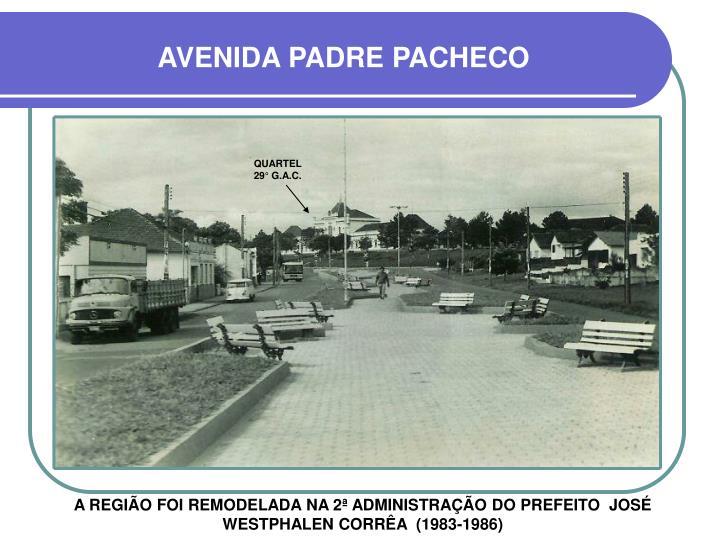 AVENIDA PADRE PACHECO