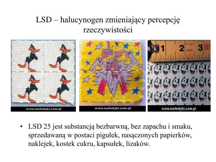 LSD – halucynogen zmieniający percepcję rzeczywistości