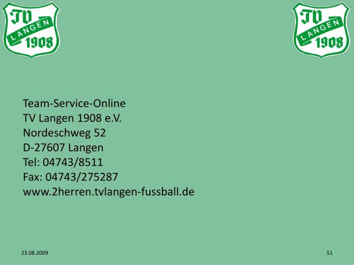 Team-Service-Online