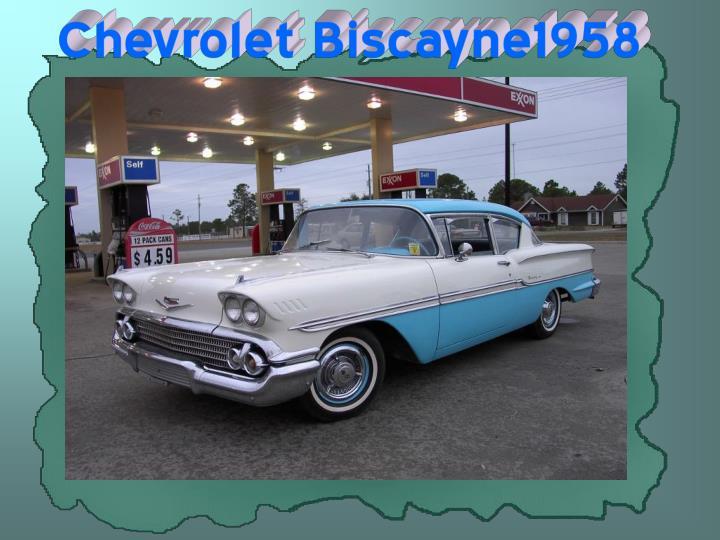 Chevrolet Biscayne1958