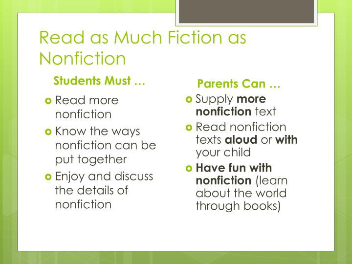 Read as Much Fiction as Nonfiction