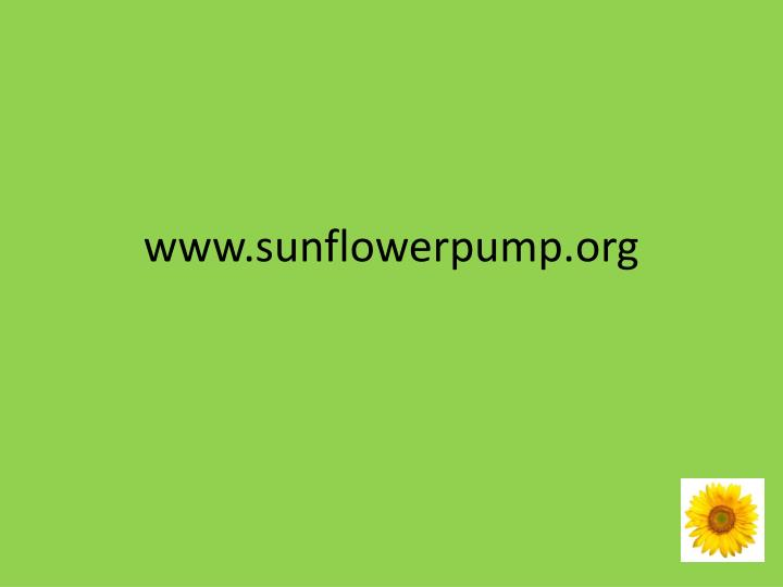 www.sunflowerpump.org