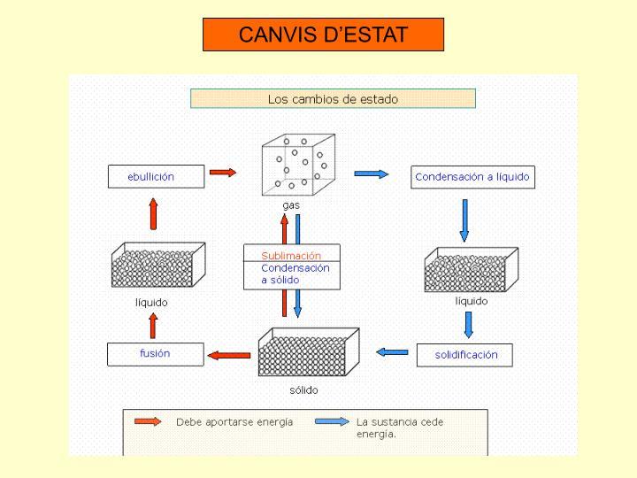 CANVIS D'ESTAT