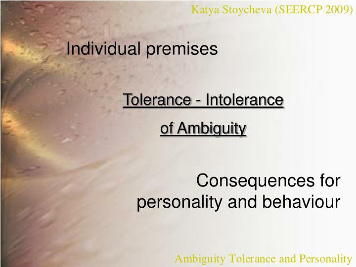 Individual premises