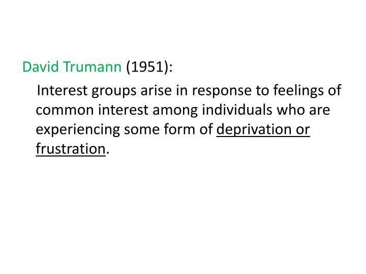 David Trumann
