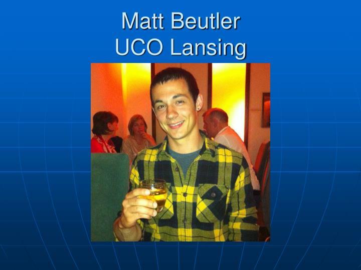 Matt Beutler