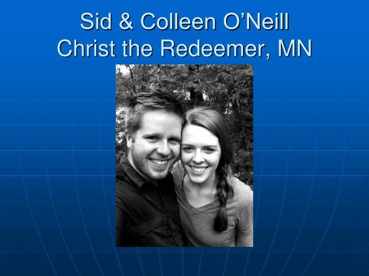Sid & Colleen O'Neill