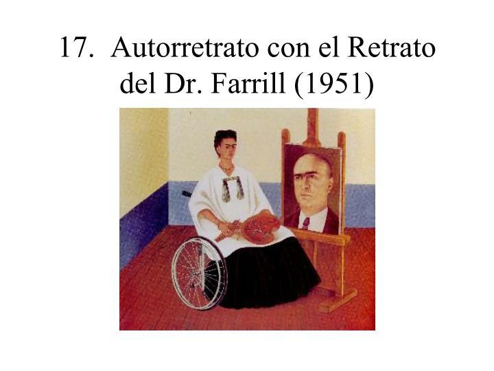 17.  Autorretrato con el Retrato del Dr. Farrill (1951)