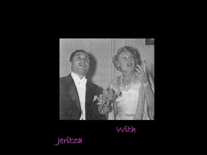 With Jeritza