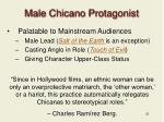 male chicano protagonist