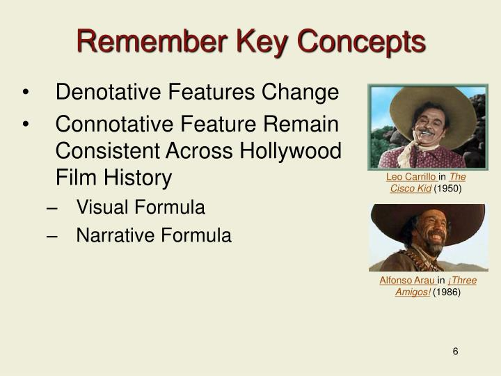 Remember Key Concepts