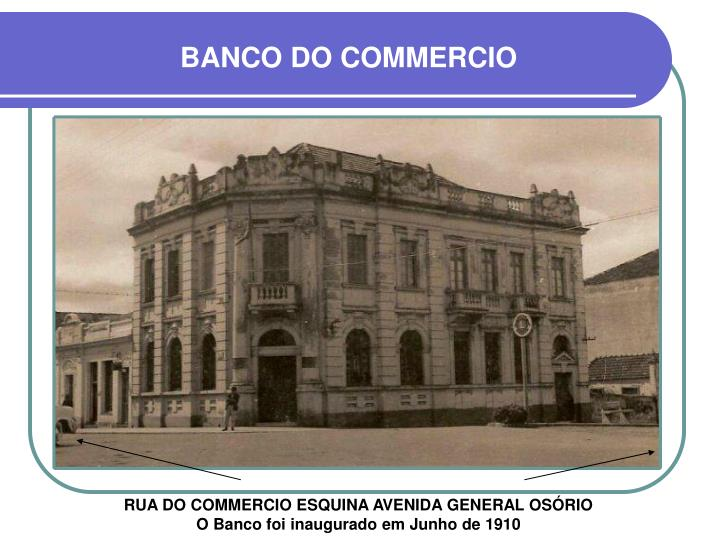 BANCO DO COMMERCIO