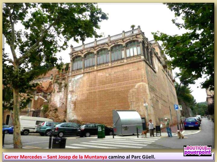 Carrer Mercedes – Sant Josep de la Muntanya
