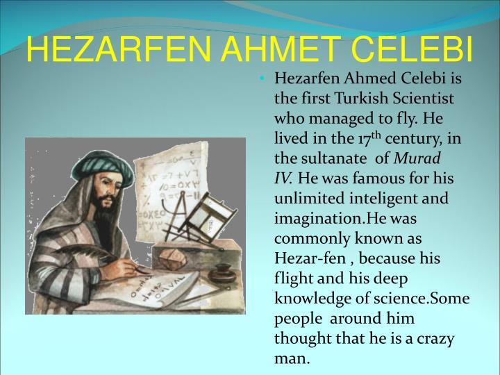 HEZARFEN AHMET CELEBI
