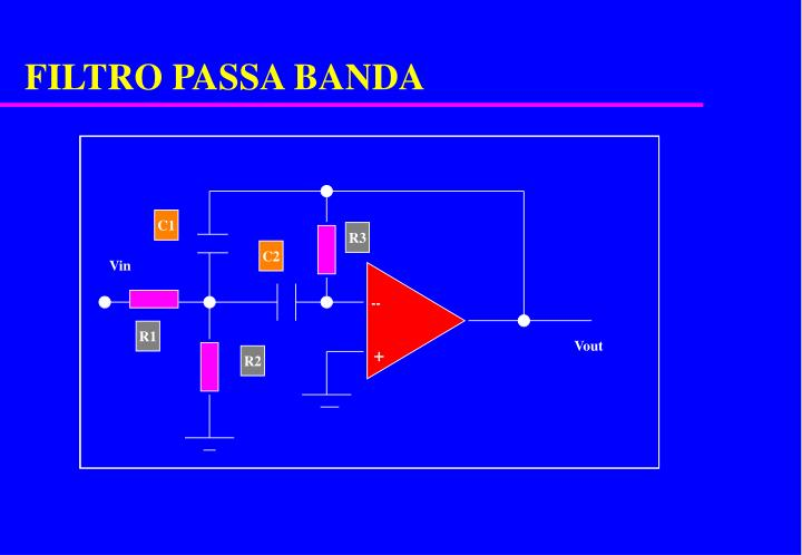 FILTRO PASSA BANDA
