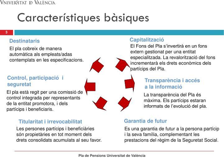 Característiques bàsiques