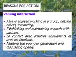 reasons for action2