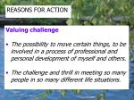 reasons for action3