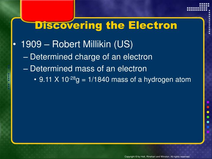 Discovering the Electron