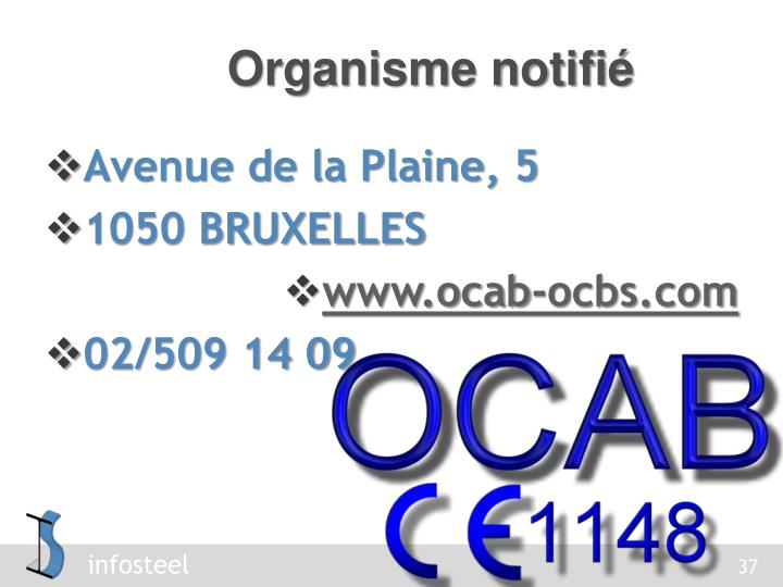 Organisme notifié
