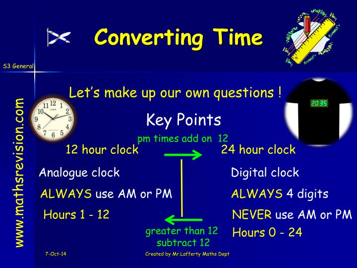 Converting Time