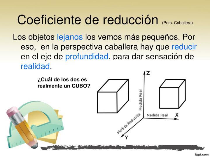 Coeficiente de reducción