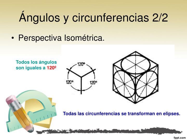 Ángulos y circunferencias 2/2