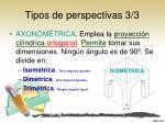 tipos de perspectivas 3 3