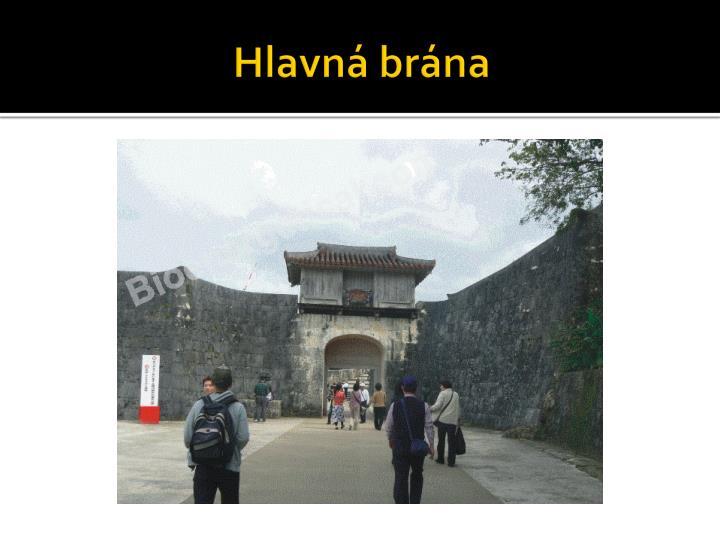 Hlavná brána