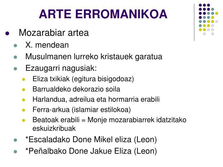 ARTE ERROMANIKOA