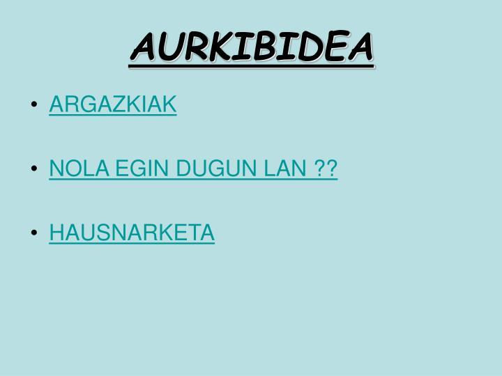 AURKIBIDEA