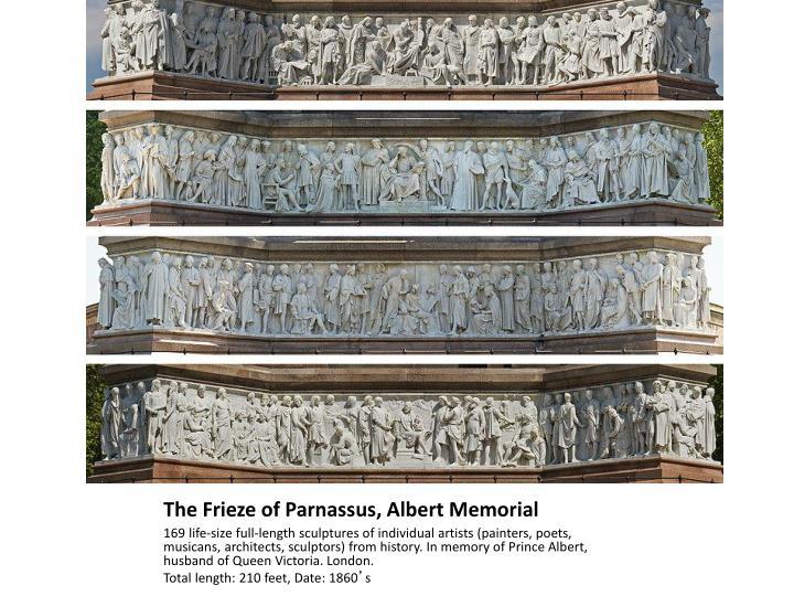 The Frieze of Parnassus, Albert Memorial