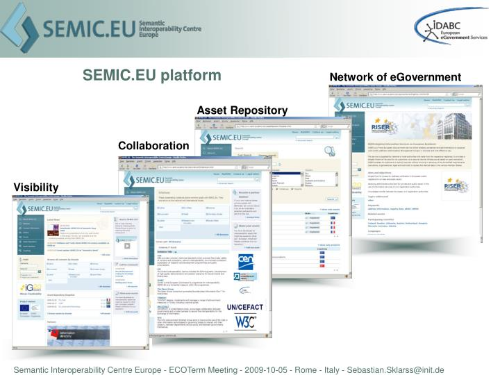 Network of eGovernment