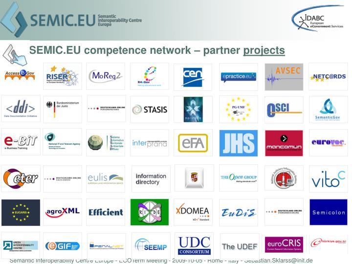 SEMIC.EU competence network – partner