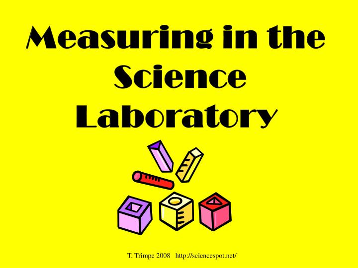 Measuring in the