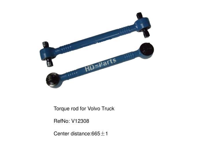 Torque rod for Volvo Truck