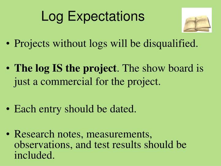 Log Expectations