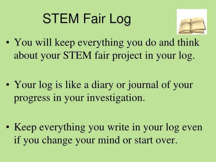 STEM Fair Log