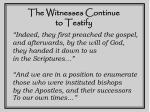 the witnesses continue to testify5
