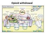 opioid withdrawal1