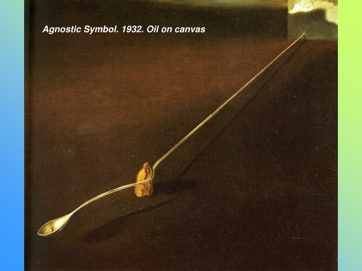 Agnostic Symbol. 1932. Oil on canvas