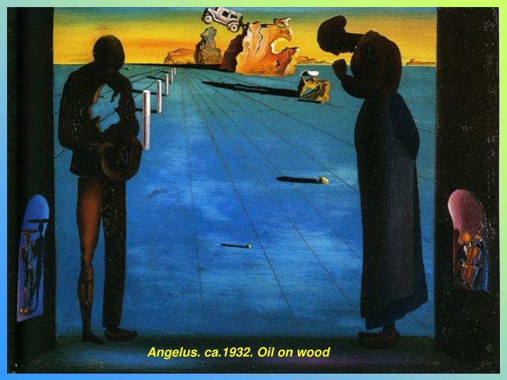 Angelus. ca.1932. Oil on wood