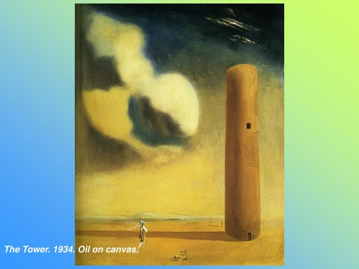 The Tower. 1934. Oil on canvas.