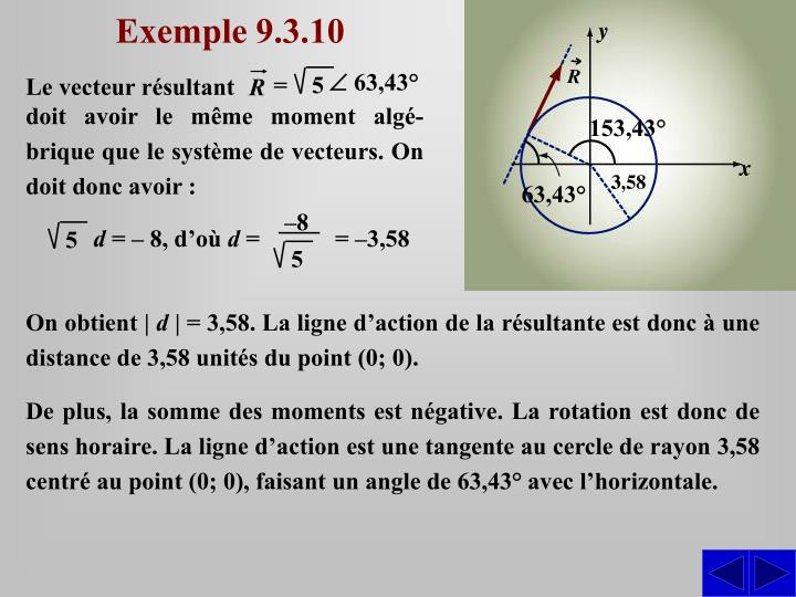 Exemple 9.3.10