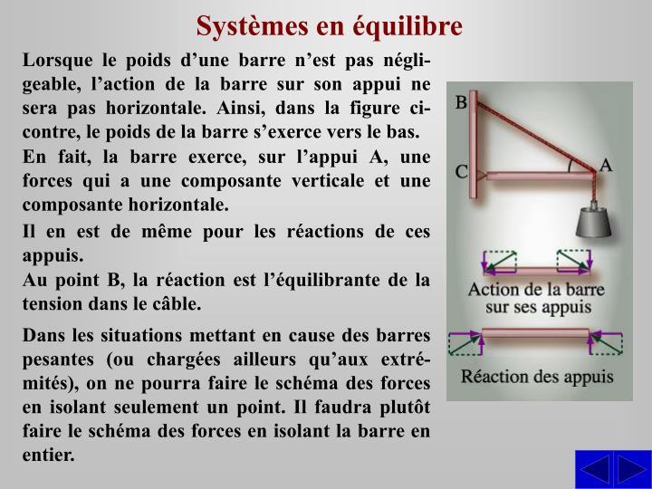 Systèmes en équilibre