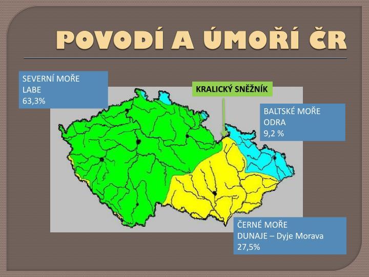 POVODÍ A ÚMOŘÍ ČR